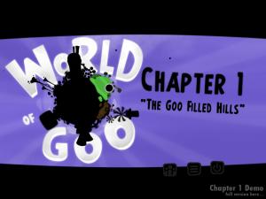 World of goo 主選單
