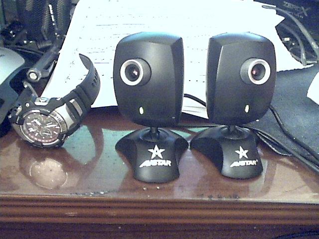 兩顆Webcam